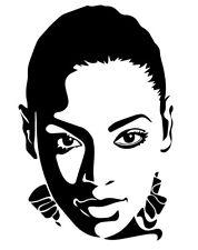 Beyonce vinyl decal sticker Destany's Child RnB Pop Singer Feminist