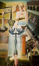 """SALVADOR DALI Surrealism Painting Poster or Canvas Print """"El Hombre Invisible"""""""