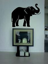 Wandtattoo Elefant, aus Wandfolie, geschnitten, wallart, leicht aufzukleben