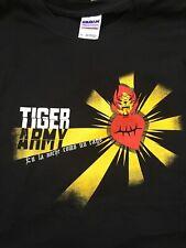 "TIGER ARMY - ""Noche Como Un Rago"" T-shirt ~Never Worn~ XL ##"