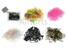 Braiding Bands Small Polyurethane Mini Elastics Hair Bands in Zip Purse