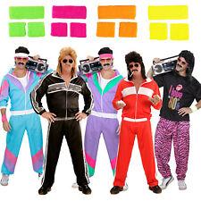 80er Jahre Kostüme Verkleidung Accessoires Herren Trainingsanzug Prolet Karneval