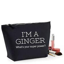 Ginger Hair Funny Gift Women's Make Up Accessory Bag