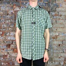 Zoo York Heartland Short Sleeve Shirt - Green - Size: S