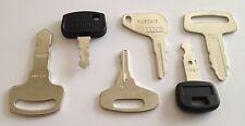 !6 Kubota Keys - Kubota Heavy Equipment/Tractor Key Set