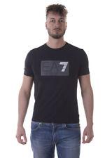 T-shirt Maglietta Emporio Armani EA7 Sweatshirt % Uomo Nero 3YPTM0PJ20Z-1200