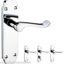 ZOO hardware Door Handles - Polished and Satin Chrome - Latch, Lock & Bathroom