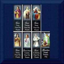 Bookmarks CATHOLIC Holy Cards Bible ✝️ Women Saints Guardian Angel ✝️ 7 Choices