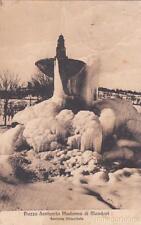 * MONDOVI' - Piazza Santuario Madonna, Fontana Ghiacciata 1910