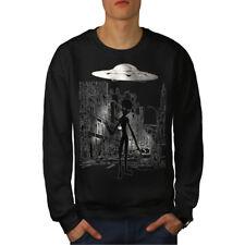 Alien Ghost vie Hommes Sweatshirt NOUVEAU | wellcoda