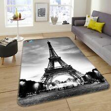 3D Eiffel Tower 300 Non Slip Rug Mat Room Mat Quality Elegant Photo Carpet AU