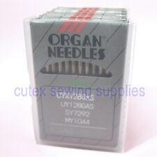 100 Organ UY128GAS UYX128GAS MY1044 Titanium CoverStitch Machine Needles