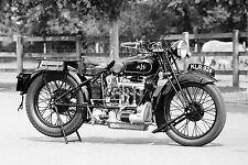 COOL Vintage AJS Motocicletta Canvas #77 Retrò Moto A1 A3 foto su tela