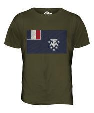 FRANCÉS TIERRAS MERIDIONALES Y ANTÁRTICAS Garabato Bandera Para hombres Camiseta Camiseta Top Camisa De Regalo