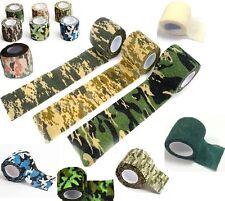 NASTRO ELASTICO MIMETICO REMOVIBILE 16 colori CACCIA SOFTAIR military acu