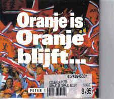 Peter Koelewijn- Oranje Is Oranje blijft cd single