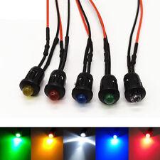 5mm Pre-Wired LEDs Bulb 2V 3V 12V~ 220V White/Red/Green/Blue/Yellow With Holders
