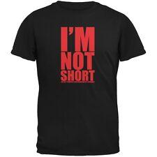 Not Short Adorable Funny Black Adult T-Shirt