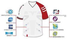 Compressport Pro Racing Triathlon T-Shirt – Mens Compression, white, Pro Racing