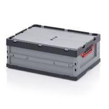 Profi-Klappbehälter 60x40x22 m Deckel*Plastikkiste*stapelbar*klappbar*Eurobox*