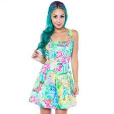IRON FIST My Little Pony Dress Cute Kawaii Multicolor RARE NWT Ladies Womens