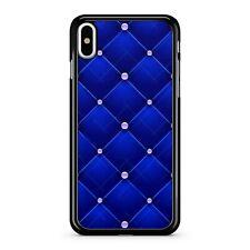 Printed Bead Covered Elegant Dark Blue Cushion Pattern Camo Phone Case Cover