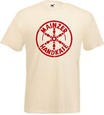 MAINZER HANDKÄSE Motiv T-Shirt naturfarben
