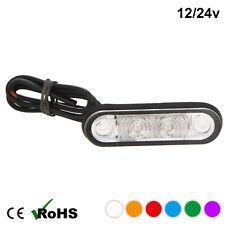 HELLA STYLE LED FLUSH FIT KELSA BAR MARKER LAMP LIGHT 12v 24v