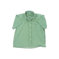 Cyrillus chemise manches courtes carreaux vichy garçon 2/3 ans