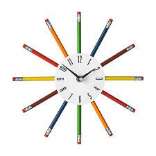 Premier Housewares Orologio con lancette matita Multi-coloure