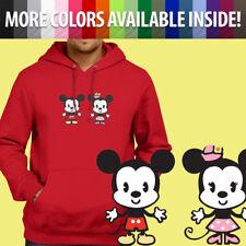 Disney Cuties Mickey Minnie Mouse Kawaii Cute Pullover Sweatshirt Hoodie Sweater