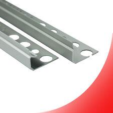 Alu Inneneck Profil Fliesenschiene Schiene silber matt poliert L270cm H10mm
