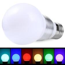 E27 3W RGB 6 Changement de couleur LED Spot Ampoule 85-265V avec télécommande EH