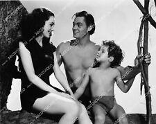 1625-016 Maureen O's Ullivan Johnny Weissmuller Sheffield Película Tarzán