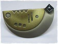 Neu SCHALCLIP goldfarben/silber HANDARBEIT Schalhalter TUCHHALTER Clip TUCHCLIP