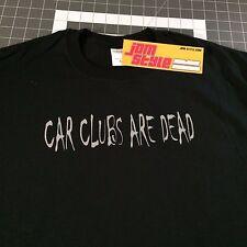 JDM STYLE CAR CLUBS ARE DEAD T-SHIRT HONDA CIVIC INTEGRA EK EG EF SI 240SX scion