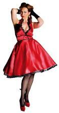 50er Jahre Rock`n Roll Kleid Kostüm Petticoat Rockabilly Polka Punkte Tanz Swing