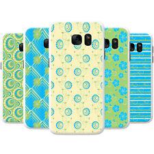 Crema Azul Verde Intenso patrones de Snap-On estuche rígido cubierta teléfono para Teléfonos LG
