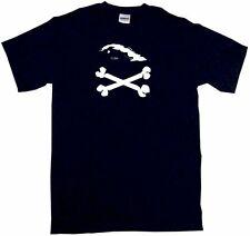 Cuba Country Logo Pirate Skull Cross Bones Mens Tee Shirt Pick