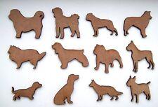 Perro De Madera Mdf, Mascotas láser cortar formas para hacer artesanía, decoración, pintura