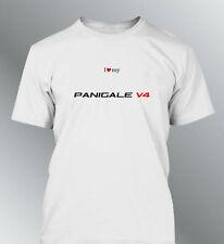 Tee shirt personnalise Panigale V4 S M L XL XXL homme moto