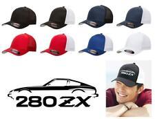 Datsun 280ZX Sports Car Color Outline Design Hat Cap