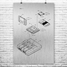 Nintendo Super GameBoy SNES Adapter Poster Art Print Snes Poster Nintendo Poster
