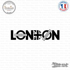 Sticker London Underground - Union Jack Decal Aufkleber Pegatinas V-013