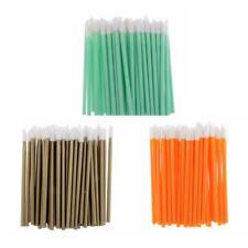 Pack 50pc Disposable Cosmetic Lip Brush Wand Lipstick Applicator Makeup Tool