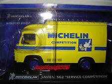 SAVIEM SG2 FOURGON SERVICE COMPETITION MICHELIN  au 1/43°