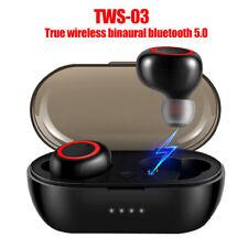 Tws-03 Bluetooth 5.0 Wireless HiFi Binaural Call In-Ear Sports Earphones Headset