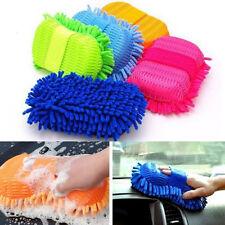 Microfiber Chenille Car Vehicle Care Washing Brush Sponge Pad Cleaning Tool R2C