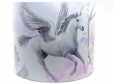 Unicorn Lampshade Ceiling Light Shade Girls Princess Horse Bedroom Nursery Lilac
