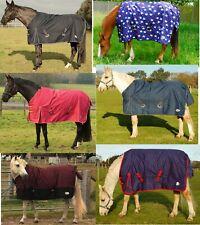 Rhinegold Torrent Lightweight Summer Horse Turnout Outdoor Rug 0g Waterproof